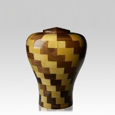 Latida Medium Wood Urn