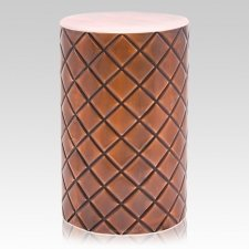 Lattice Metal Cremation Urn