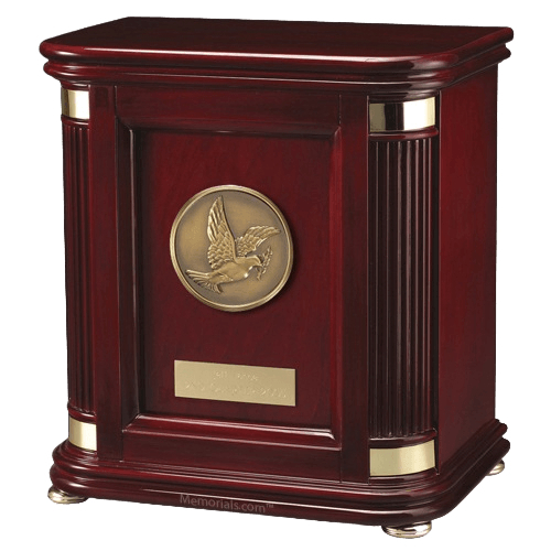 Laudation Dove Wood Cremation Urn
