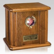 Lauro Wood Cremation Urn