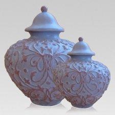 Lavender Ceramic Cremation Urns