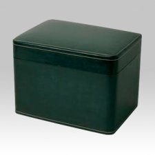 Leather Square Scattering Cremation Urn II