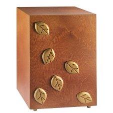 Leaves of Gold Cremation Urn