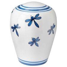 Libellula Ceramic Cremation Urns