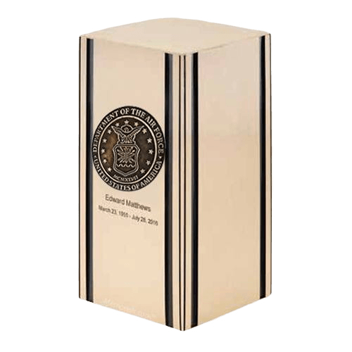 Liberty Air Force Bronze Military Cremation Urn