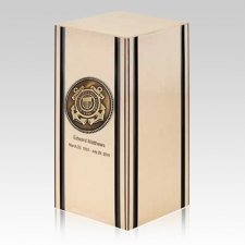 Liberty Coast Guard Bronze Military Cremation Urn