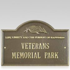 Liberty Dedication Plaque