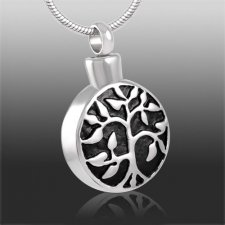 Lifes Branches Cremation Necklace