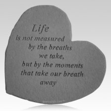 Lifes Measure Heart Stone