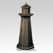 Lighthouse Bronze Keepsake Cremation Urn