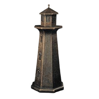Lighthouse Bronze Keepsake Cremation Urn