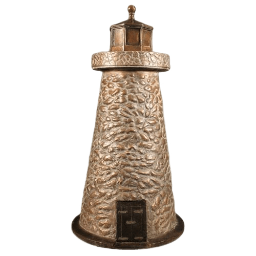 Lighthouse Bronze Cremation Urn