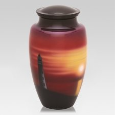 Lighthouse View Cremation Urn