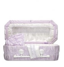 Lilac Carriage Child Caskets