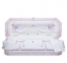 Lilac Fair Small Child Casket
