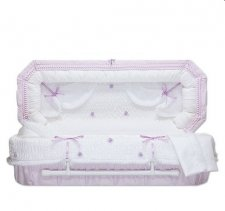 Lilac Fair Child Caskets