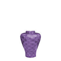 Lilac Keepsake Wood Urn