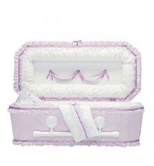 Lilac Love Premie Child Casket