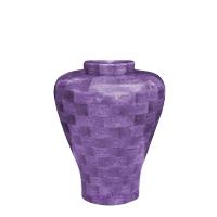Lilac Medium Wood Urn