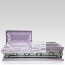 Lilac Mist Large Child Casket