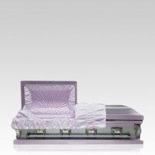 Lilac Mist Medium Child Casket
