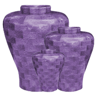 Lilac Wood Cremation Urns