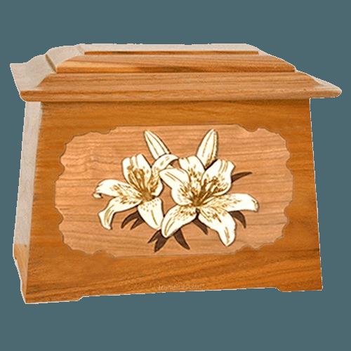 Lily Mahogany Aristocrat Cremation Urn