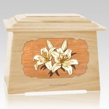 Lily Maple Aristocrat Cremation Urn