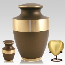 Lineas Bronze Cremation Urns