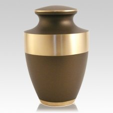 Lineas Bronze Cremation Urn