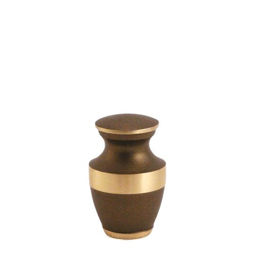 Lineas Bronze Keepsake Cremation Urn