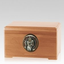Linebacker Light Cherry Cremation Urn