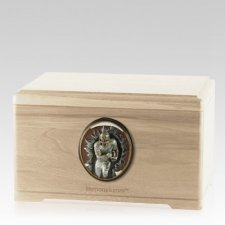 Linebacker Maple Cremation Urn