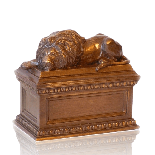 Lion Keepsake Cremation Urn