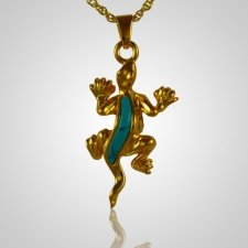 Lizard Cremation Jewelry IV