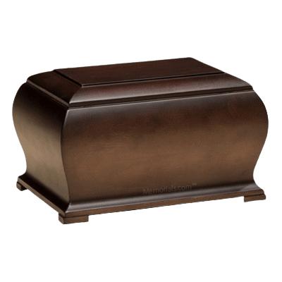 London Wood Cremation Urn