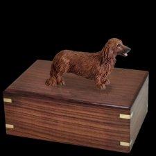 Longhair Dachshund Doggy Urns