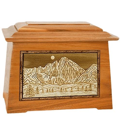 Longs Peak Mahogany Aristocrat Cremation Urn