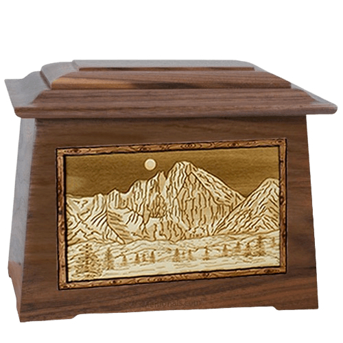 Longs Peak Walnut Aristocrat Cremation Urn