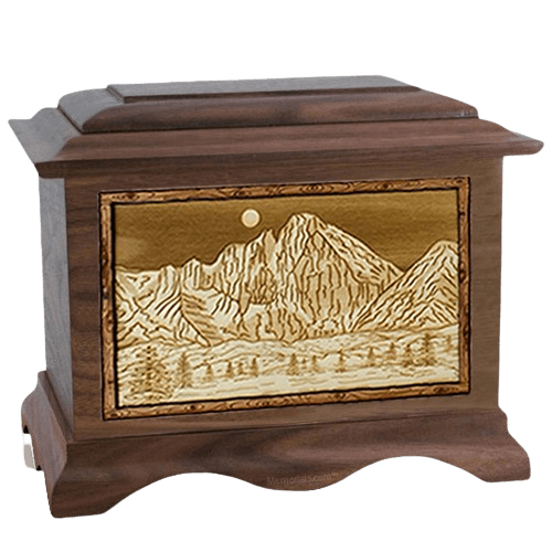 Longs Peak Wood Cremation Urns
