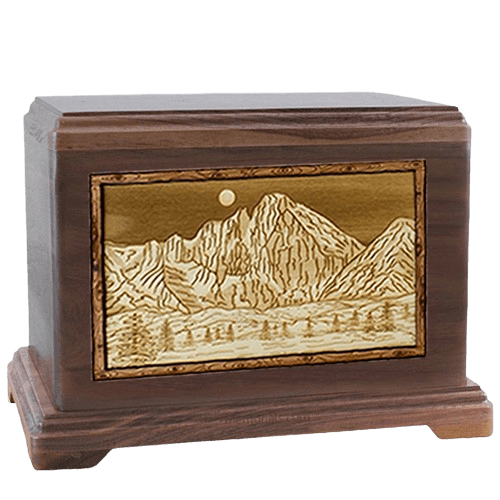 Longs Peak Walnut Hampton Cremation Urn