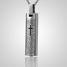 Lord Prayer Cremation Pendant
