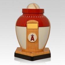 Los Angeles Angels Baseball Cremation Urn