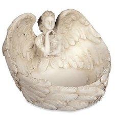 Lost in Thought Angel Keepsake Dish