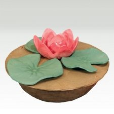 Lotus Biodegradable Cremation Urn