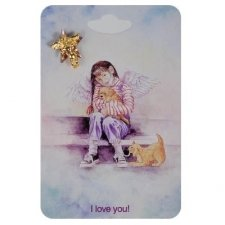 Love Angel Lapel Pins
