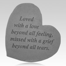 Love Beyond Feeling Heart Stone