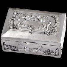 Love Birds Keepsake Box