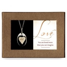 Love Gift Boxed Angel Pendant