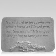 Love You Rosemary Memorial Stone
